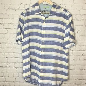 TOMMY BAHAMA LINEN CAMP SHIRT